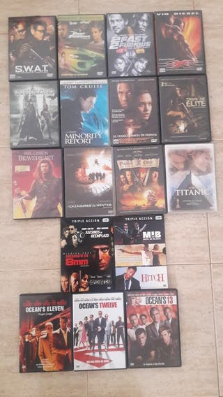 Pack de 21 películas DVD...