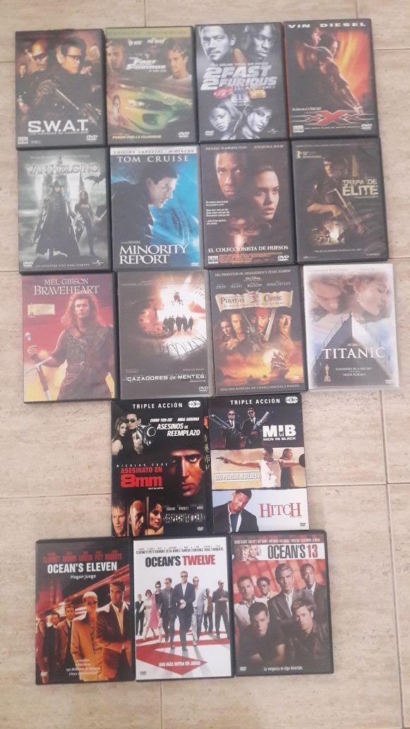 Pack de 21 películas DVD originales ...