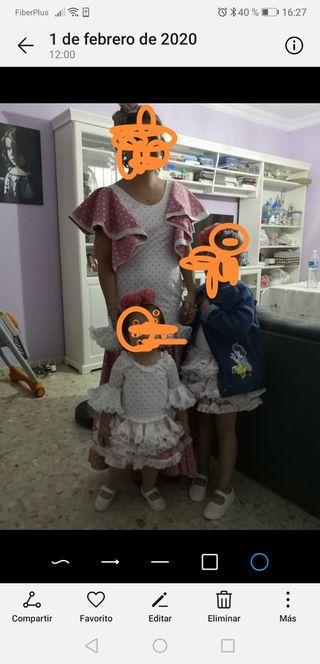 vendo trajes de gitana de niñas y de mujer