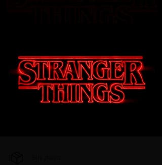 Carteles de Stranger Things