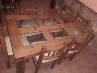 Mesa Rustica de comedor