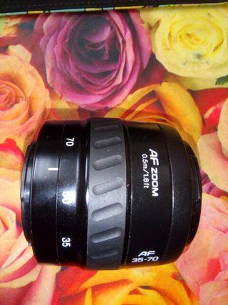 Objetivo Minolta af zoom 35-70mm f 3.5-4.5