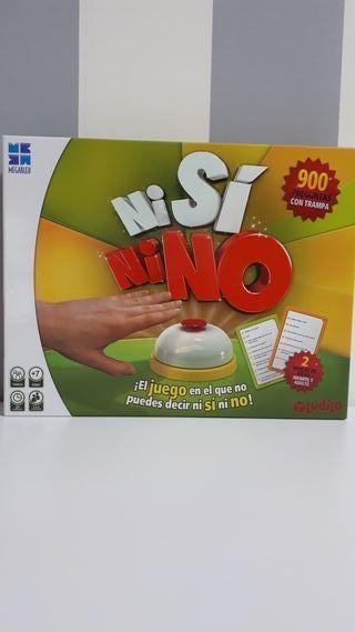 Juego de mesa Ni Sí Ni No