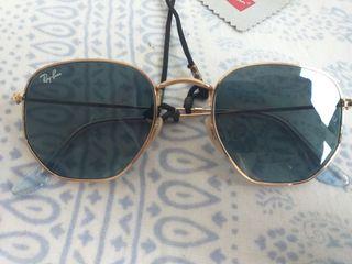Gafas Rayban modelo hexagonal flat lenses