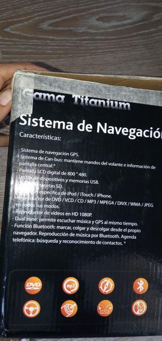 SISTEMA NAVEGACIÓN GPE UNIVERSAL