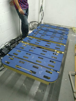 Cama Eléctrica Articulada Geriátrica