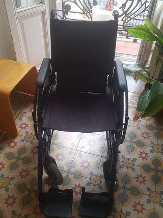 silla de ruedas marca breezy
