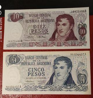 Billetes de Argentina.