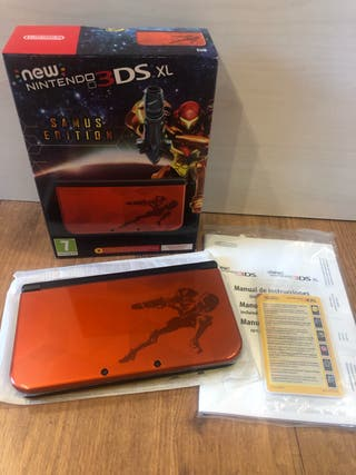 New Nintendo 3DS XL SAMUS EDITION. PRECINTADA