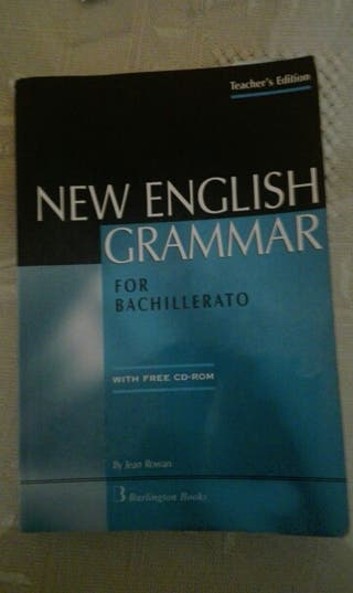 New English Grammar Bachillerato (Sin disco)