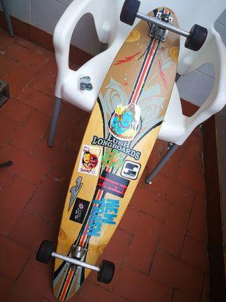 skate longboard pintail clásico barato