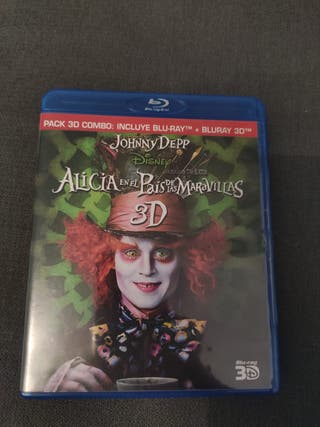 Alicia en el País de las Maravillas bluray 3D
