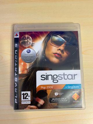 Singstar pop 2009 ps3 pal españa