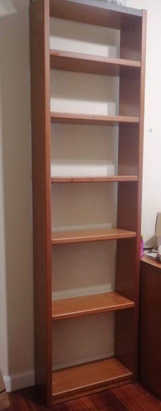 Estanteria estrecha de 6 estantes