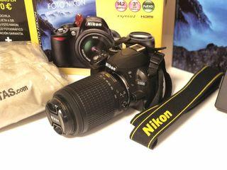 Nikon D3100 como nueva