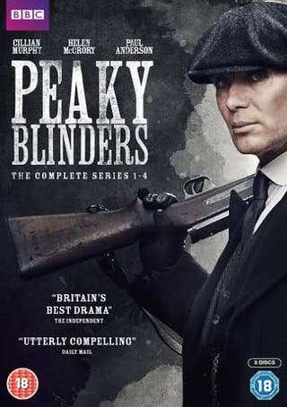 Peaky Blinders 1-4 boxset
