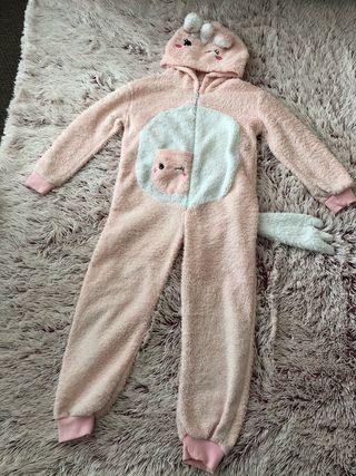 Mono pijama unicornio