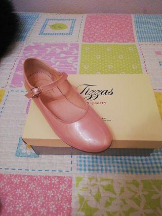 Zapato niña comunión