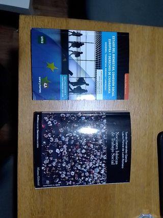 Libros Trabajo Social UNED 2019/20