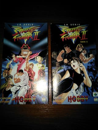 Street Fighter II victory Vhs