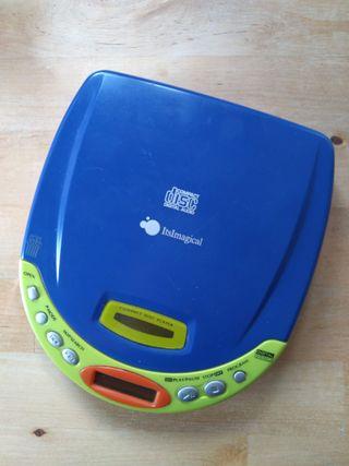 URGENTE Discman Reproductor Portátil CD