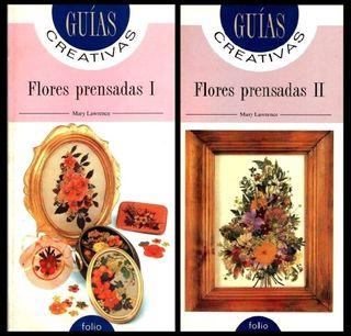 FLORES PRENSADAS (I+II). 2 LIBROS.