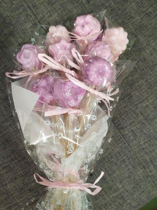 ramos flores jabon