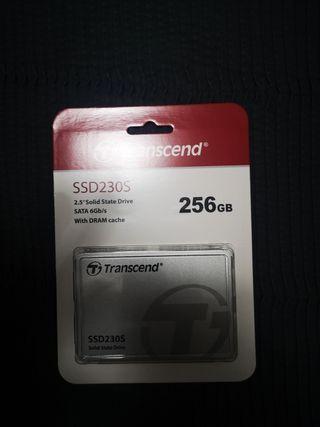 disco duro SSD transcend 256gb nuevo sin abrir