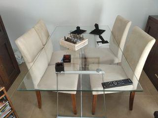 Mesa de Comedor y Juego de sillas