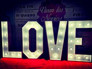 ALQUILER DE LAS LETRAS LOVE 1M
