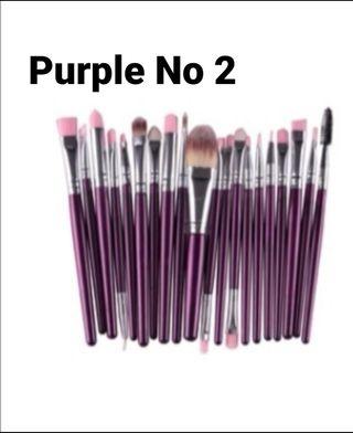 20PCS Make Up Brushes Set Eye-shadow Eyeliner Lip
