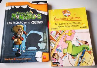 Pack libros Infantiles, de Geronimo Stilton y Disn