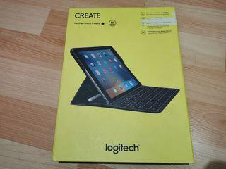 funda teclado iluminado ipad pro 9.7