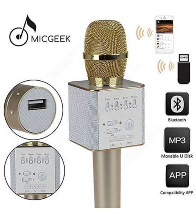 Microphone karaoke sans fil Micgeek