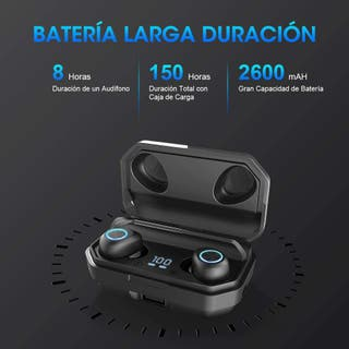 1Mii Auriculares Bluetooth 5.0, pinganillo