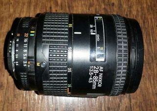 Objetivo Nikon Af 28-85mm (Más Imagen y Sonido en mi perfil