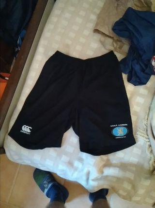pantalón corto rugby