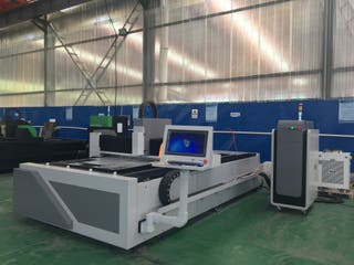 Maquina cortadora por laser para hierro 500W