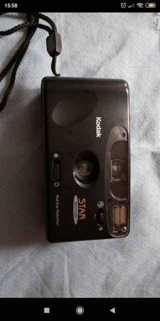 cámara de fotos carrete