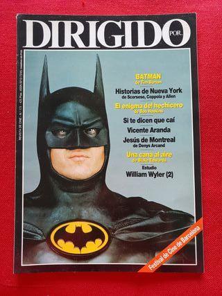Revista Dirigido por n° 172. Batman