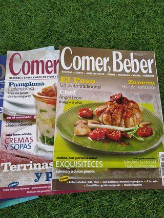 Lote revistas Comer y Beber