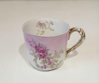 juego café porcelana limoges W. G. France + regalo