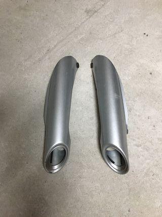 Protección Tubo de Escape Suzuki gsr 600