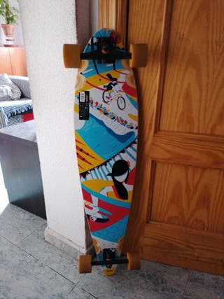 longboard oxelo pintail chill