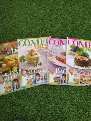 Lote revistas Comer bien