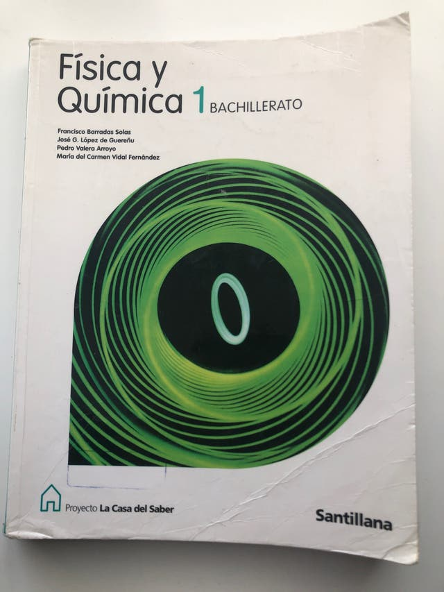 Libro Fisica y quimica 1bach