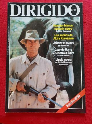 Revista Dirigido por n° 180. Clint Eastwood.