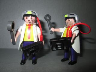 Playmobil. Científico Loco.