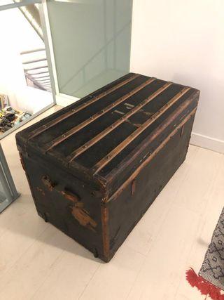 Baúl Vintage - Gran capacidad almacen
