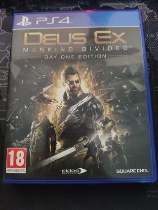 Deus ex makind devided PS4
